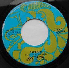 *FREEDOM (North /  of Choice) Doctor Tom PROMO CANADA 1970 AQUARIUS PSYCH 45
