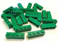 *NEW* 25 Pieces Lego BRICKS 1x4 GREEN 3010