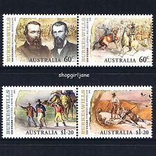 2010 - Australia - Burke & Wills: 150 Years - set of 4 - MNH