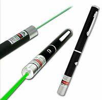 Pointeur Laser Vert stylo spot faisceau puissant 1mW longue portée 10KM
