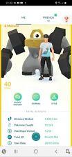 Pokémon Go Level 40 account. Amazing account