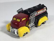 Hot Wheels Fast Gassin HW City Works Big Rig Truck Yellow Red Black 2012 Toy Car