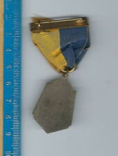 AN-106 Westchester County, 1940s Swimming Medal Bronze, NY, Brass