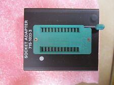 4 pieces Data I/O Corp. Program Socket Adapter p/n 715-1033-3   SMK-92/F37A  New