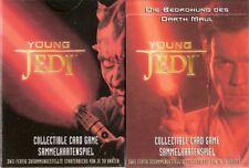 Star Wars - Young Jedi Starter Set Karten Deck - Deutsch für 2 Spieler NEU & OVP