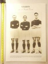 IL GRANDE TORINO1942/1949@TRIO DELLE MERAVIGLIE@POSTER DELLA GAZZETTA PIEMONTE