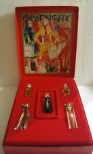 Vintage GIVENCHY Leroy Neiman Miniature Perfume Box Set. 5 Piece FRANCE