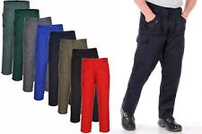 Portwest Action Trousers Knee Pad Zip Pockets Cargo Work Safety Reinforced S887