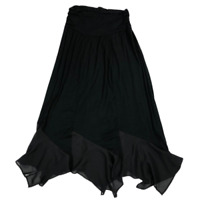 NWT New Directions Black Long Stretchy Skirt Women's Size XL