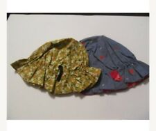 2 Vintage Bonnets. one strawberries motif one floral . One size .
