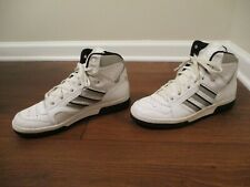 Classic 2002 Used Worn Size 11 Adidas Conductor Hi Shoes White Silver Black
