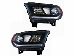 For 2014-2017 Dodge Durango Headlight Assembly Set 44176JP 2015 2016