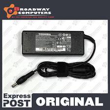 Original Adapter Charger TOSHIBA Satellite Pro A300 L300 L500 L500D 19V 3.95A