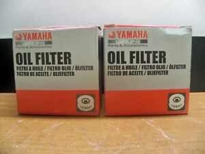 2 X NEW GENUINE YAMAHA 5GH 13440-61 OIL FILTER MOTOR CYCLE ATV OUTBOARD MOTOR