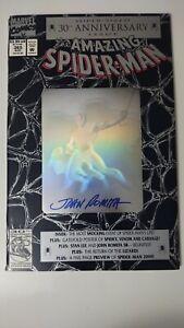 Amazing Spider-Man #365 30th Anniversary Signed John Romita COA Venom Carnage