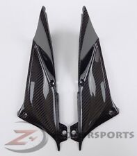 2002 2003 R1 Upper Front Dash Air Duct Ram Panel Trim Cowl Fairing Carbon Fiber
