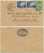 GOLD COAST ASENE 1949 H.C MENSAH ENVELOPE