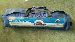 OZARK TRAIL JUNIOR TENT 6 FT X 5 FT SLEEPS 2