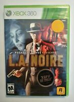 L.A. Noire for Microsoft Xbox 360 Video Game Sealed