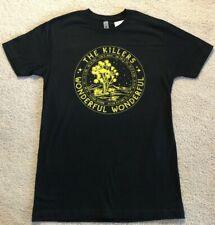 THE KILLERS Wonderful Wonderful Album Tour Black T-Shirt Size Adult S NEW