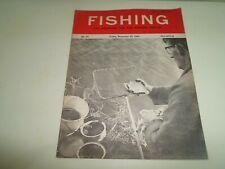 Vintage 25 December 1964 FISHING The Magazine For The Modern Angler+Advertising