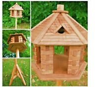 Wooden Hexagon Bird Table / Feeding Table (our ref gm)