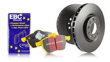 EBC Front Discs & Yellowstuff Pads for Toyota Landcruiser 4.2 TD HDJ80 90 > 92