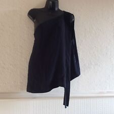 MARKS AND SPENCER AUTOGRAPH ONE SHOULDER BLOUSE SIZE 14 RRP£39.50