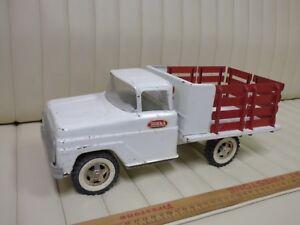 1963 1964 TONKA - Stake Truck Pressed Steel Toy ORIGINAL