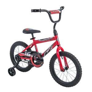 """Huffy 16"""" Rock It Boys Bike, Red"""