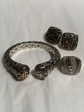 John Hardy 3 Piece Dot Collection - Cuff, Earrings, Ring Msrp: $6000
