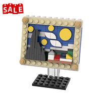 The Starry Night Starry Sky Picture Frame Building Blocks Set Toys Bricks Kids