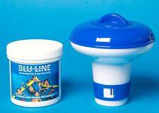 Petit distributeur avec 50 comprimés de chlore 20g pour piscines et spas, piscines intex