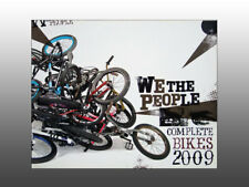 2009 We-The-People Bmx bicycle, product catalog featuring bikes and riders