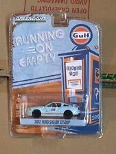 GREENLIGHT 1:64 GULF OIL RACING 2012 FORD SHELBY GT500 MUSTANG RUNNING ON EMPTY