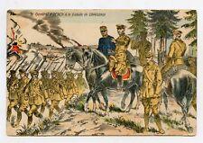 WW1. Le Général FRENCH à la bataille de CHARLEROI . War