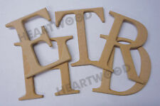 Georgia letters in MDF 100mm high x 6mm thick/Wooden craft