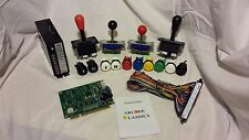 60-1 Kit includes Game bd Joystick Buttons Power Supply Jamma Wiring Harness