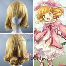 Halloween Wig Costume Rozen Maiden Hinaichigo Blonde Cosplay Heat Resistant Hair