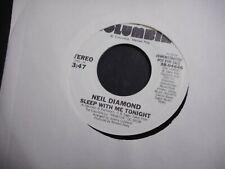 Dfgh Neil Diamond set 13 45.records white label Promo labels all diff.