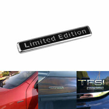 3D Black Plating Metal LIMITED EDITION Logo Car Rear Fender Trunk Sticker Emblem