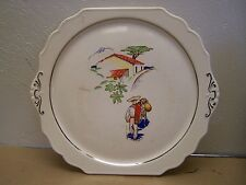1940s Vintage Ceramic Mexican Scene Plate - Mexico