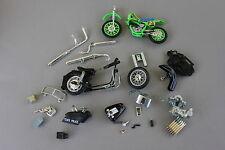 2 moto pour piece 1 métal State Police 1 plastique trial véhicule miniature P814