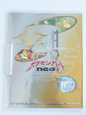 POKEMON NEO GENISIS PROMO BINDER WITH 9 CARD SET *JAPAN EXCLUSIVE BRAND NEW