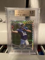 2012 Topps Chrome Xfractor #1 ANDREW LUCK SP RC Rookie BGS 9.5 GEM MINT 💎