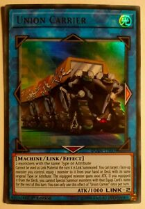 Yu-Gi-Oh! Union Carrier DUOV-EN009 1st Edition Ultra Rare Duel Overload