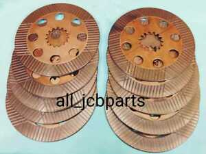 Jcb Friction Plate Brake Disc Sintered Bronze Set of 10 pcs (Part No. 450/10211)
