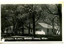 Fairhaven Resort Cottage-Detroit Lake-Minnesota-RPPC-Vintage Real Photo Postcard