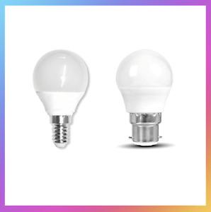B22/E14 5W - 50W Warm White Golf Ball Mini Globe Lamp LED Bulbs