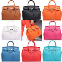 Women PU Leather Large Handbag Shoulder Bag Purse Messenger Hobo Bag Fashion New